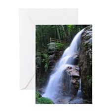 Avalanche Falls Greeting Cards