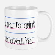 5-ovaltine Mugs