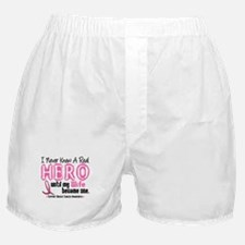 Never Knew A Hero 4 PINK (Wife) Boxer Shorts