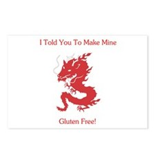 Gluten Free Dragon Postcards (Package of 8)
