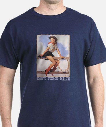 Cowgirl Don't Fence Me In T-Shirt