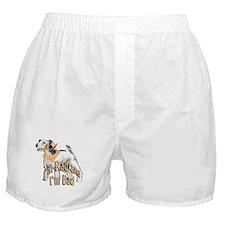 rad and bad fox terrier Boxer Shorts