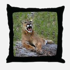 Cougars Throw Pillow