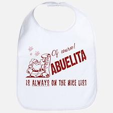 Nice List Abuelita Bib