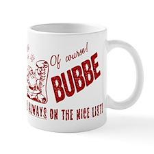Nice List Bubbe Mug