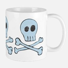 Girly Vintage Pirate Skull Mug