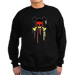 German Punk Skull Sweatshirt (dark)