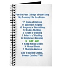 12 Days of Questing Journal