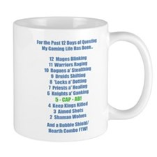 12 Days of Questing Mug