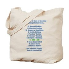 12 Days of Questing Tote Bag