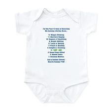 12 Days of Questing Infant Bodysuit