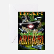 Utah The New Area 51 Greeting Cards (Package