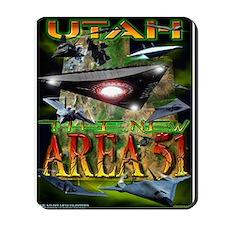 Utah The New Area 51 Mousepad