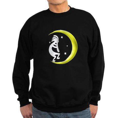 Kokopelli Moon Song Sweatshirt (dark)
