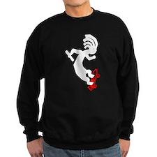 Kokopelli Skateboard Sweatshirt