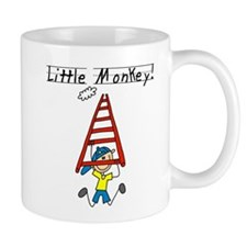 Stick Figure Little Monkey Mug