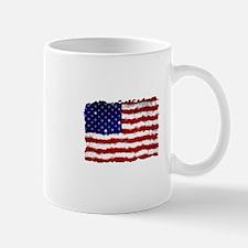 ragged flag Mugs