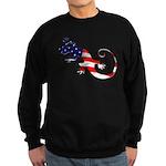 Gecko Patriotic Sweatshirt (dark)