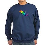 Rainbow Gecko Sweatshirt (dark)