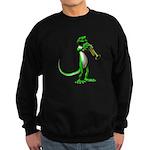 Blues Trumpet Gecko Sweatshirt (dark)