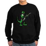 Electric Guitar Gecko Sweatshirt (dark)