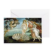 Birth of Venus Greeting Card