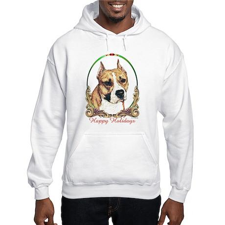 Am Staff Terrier Hooded Sweatshirt Hoodie