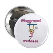 """Playground Princess 2.25"""" Button (100 pack)"""