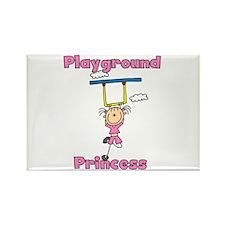 Playground Princess Rectangle Magnet