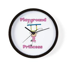 Playground Princess Wall Clock