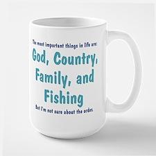 Fishing Priority - Mug