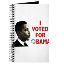 I Voted For Obama Journal