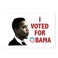 I Voted For Obama Postcards (Package of 8)