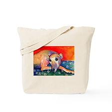 Greyhound dog 2 Tote Bag