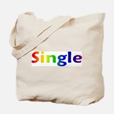 """Single"" Tote Bag"
