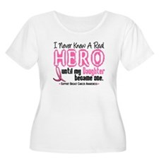 Never Knew A Hero 4 PINK (Daughter) T-Shirt