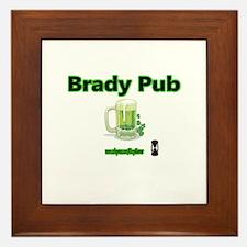 BRADY PUB Framed Tile