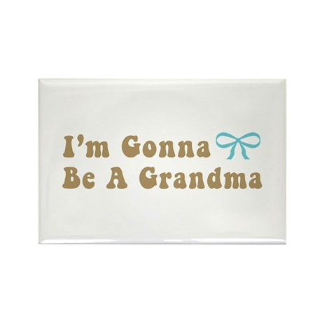 Gonna Be A Grandma Rectangle Magnet (10 pack)