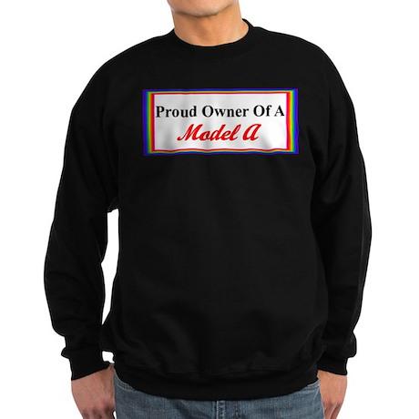 Proud of My Model A Sweatshirt (dark)