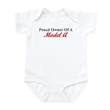 Proud of My Model A Infant Bodysuit