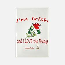 IRISH BRADYS Rectangle Magnet