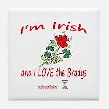 IRISH BRADYS Tile Coaster
