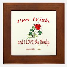 IRISH BRADYS Framed Tile