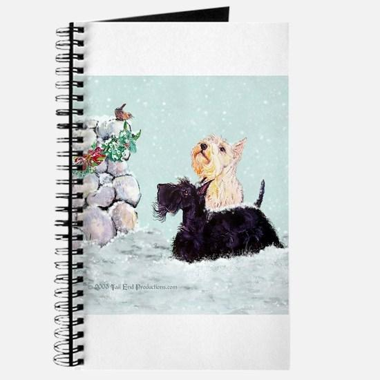 Scotties and Wren Winter Journal