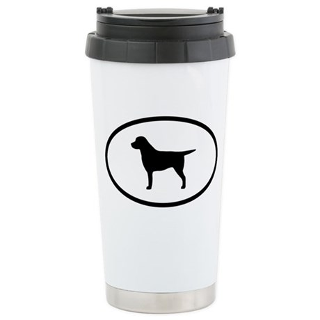 Labrador Stainless Steel Travel Mug