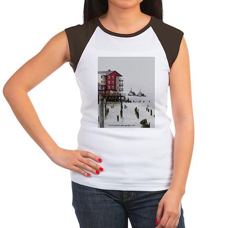 Twin Tugs Women's Cap Sleeve T-Shirt