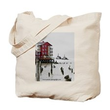 Twin Tugs Tote Bag