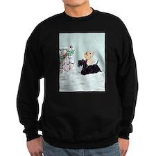 Scotties and Wren Winter Sweatshirt
