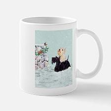 Scotties and Wren Winter Mug