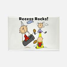 Recess Rocks Rectangle Magnet (10 pack)